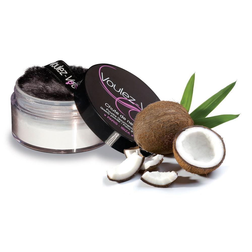 Poudre Gourmande Irisée Noix de Coco Chute de Neige