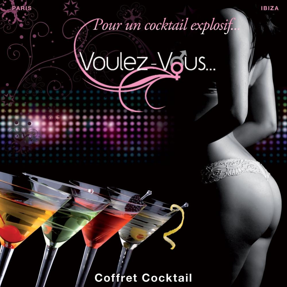 Coffret de Massage Cocktail Avec Menottes