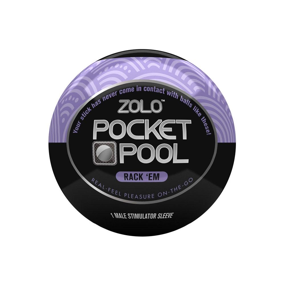 Masturbateur Zolo Pocket Pool Rack'Em