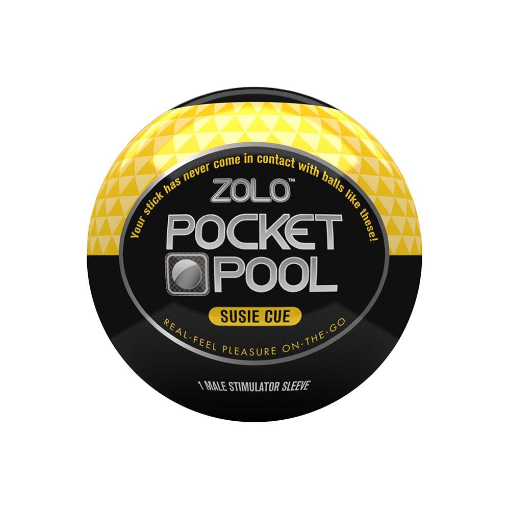 Masturbateur Zolo Pocket Pool Susie Cue
