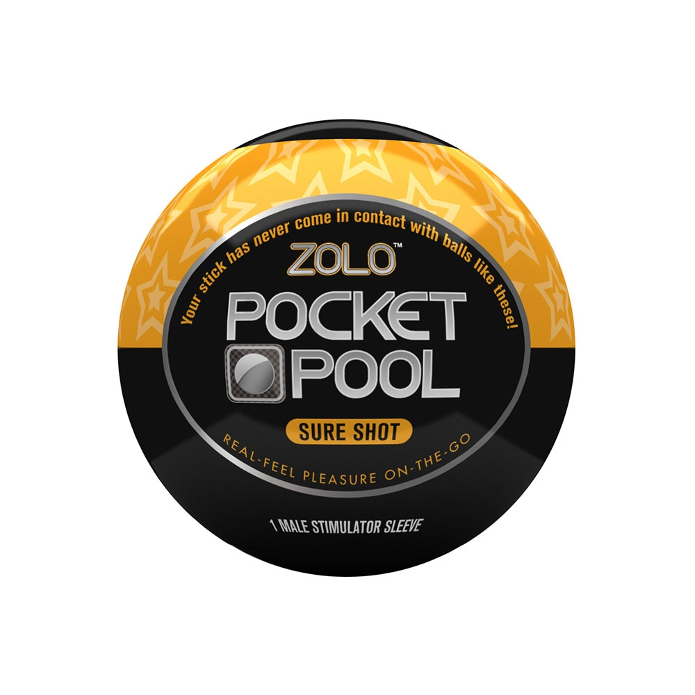 Masturbateur Zolo Pocket Pool Sure Shot