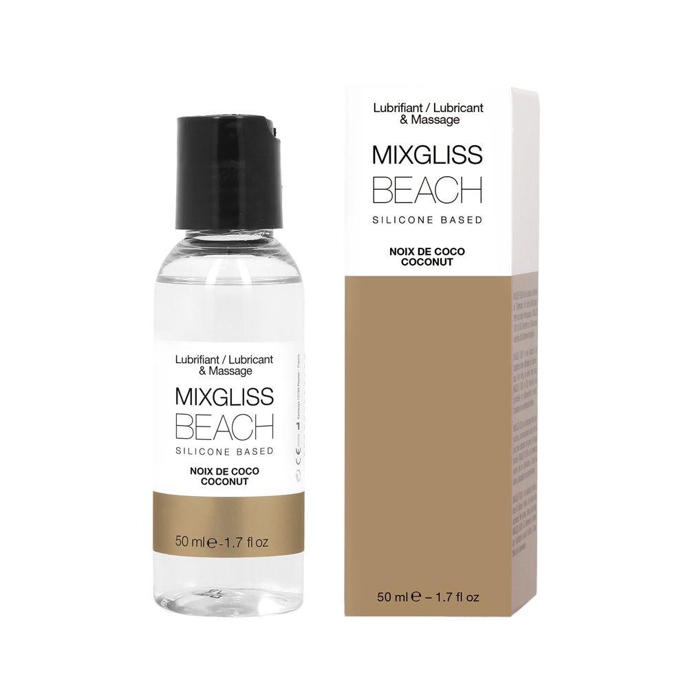 Lubrifiant Noix de Coco Silicone Beach 50 ml