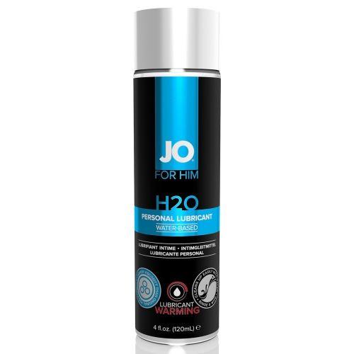 Lubrifiant Eau H2O Pour Homme Chauffant 120 ml
