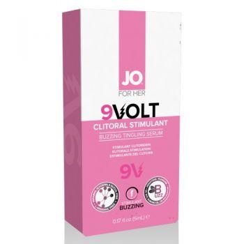 Aphrodisiaque pour Clitoris Électrifiant 9V 5 ml