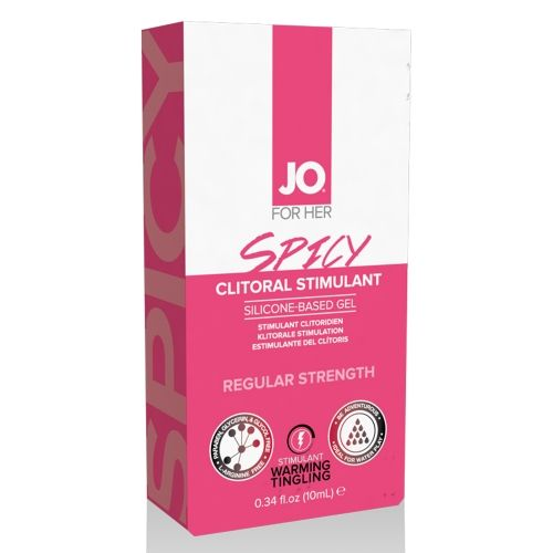 Gel Stimulant pour Clitoris Spicy