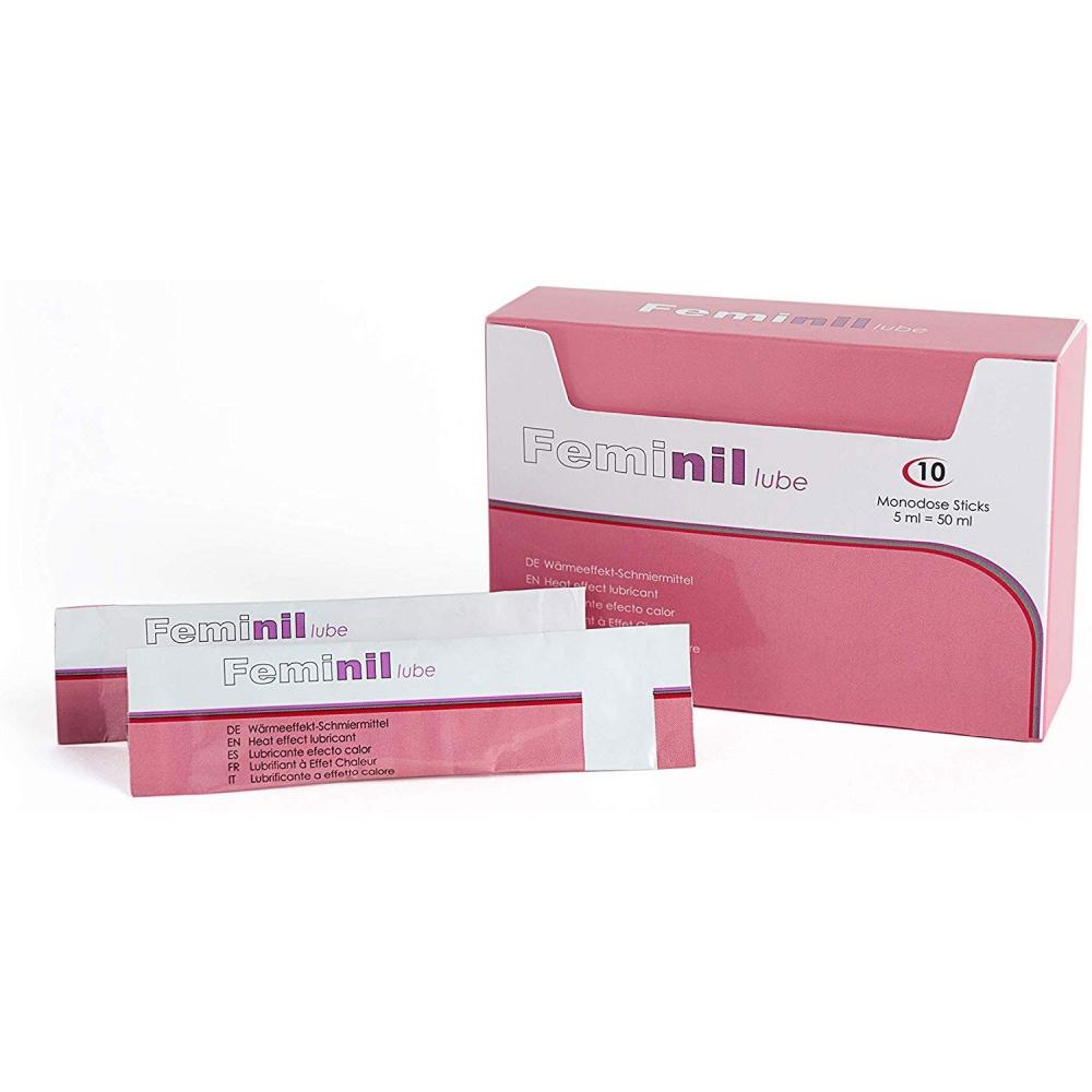 Lubrifiant Eau Stimulant Feminil 5 ml Boite de 10
