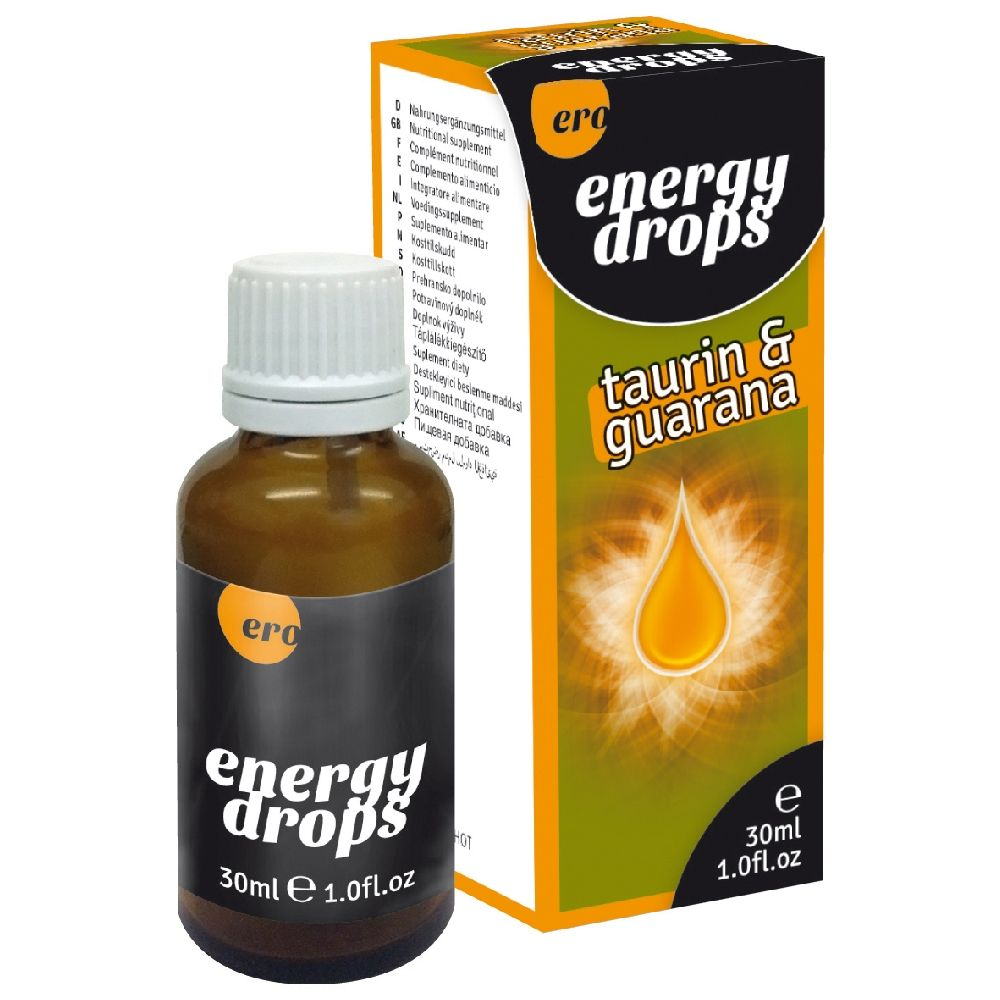 Aphrodisiaque Endurance Energy Drops Taurin & Guarana