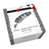 Plug Anal Jewellery Plug Silver Stripe Tail Small