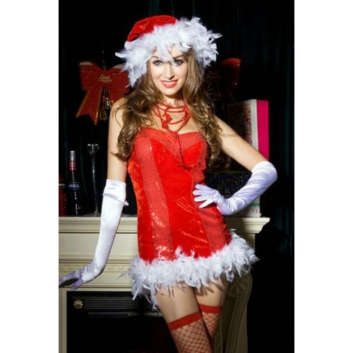 Robe Sexy Mère Noël