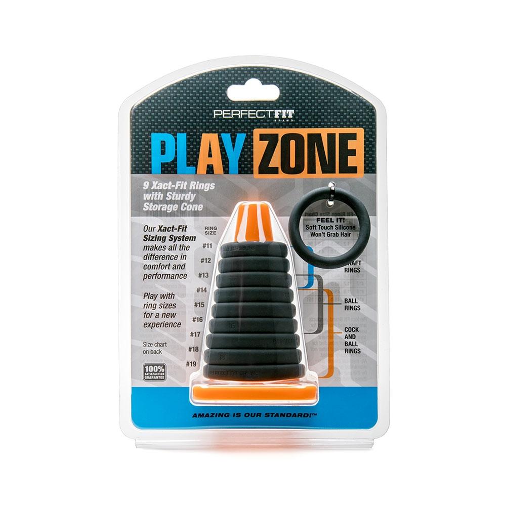 Kit de 9 Cockrings Xact-Fit Play Zone