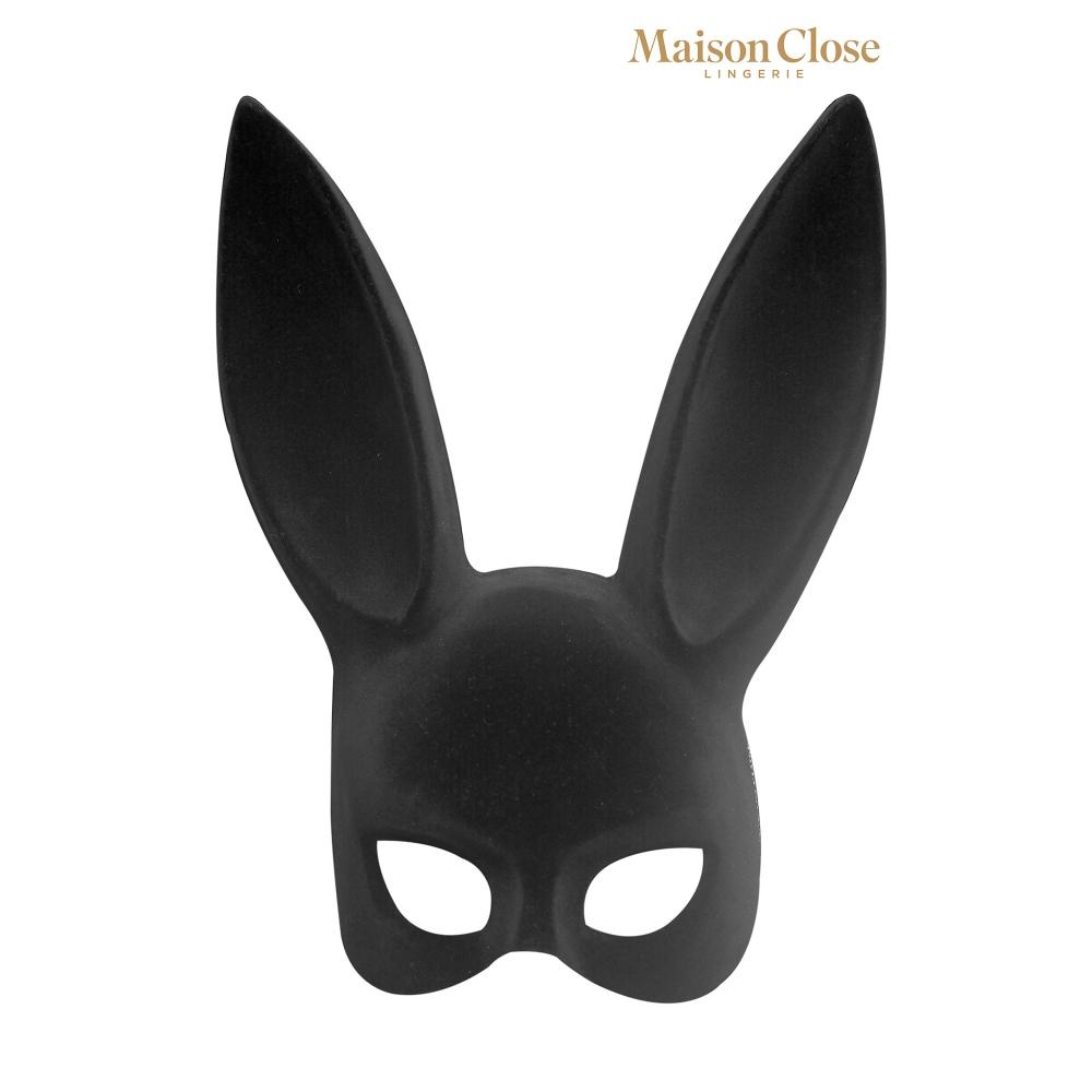 Masque Lapin avec Pompon
