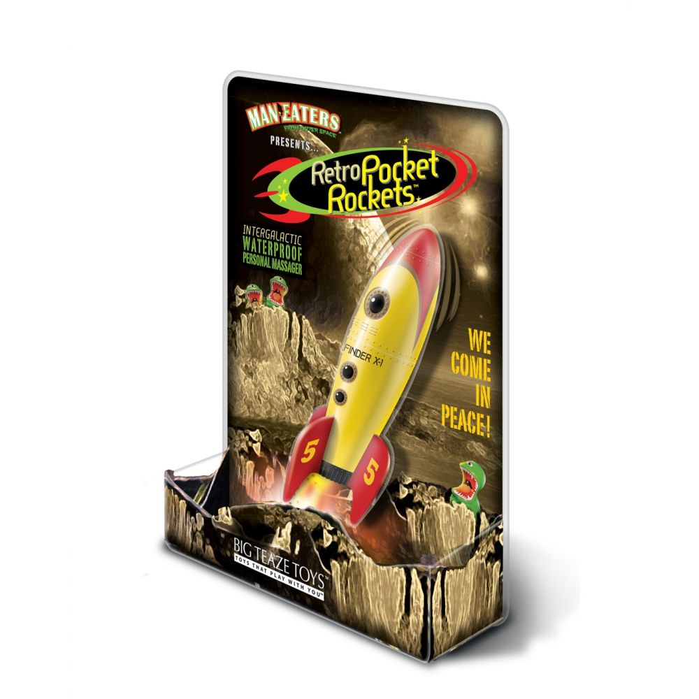 Vibromasseur Retro Pocket Rocket