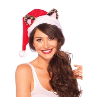 Bonnet Mère Noël Santa Kitty Hat