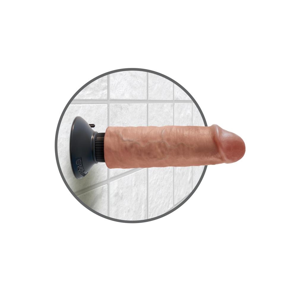 Vibromasseur Ventouse 15,2 cm King Cock