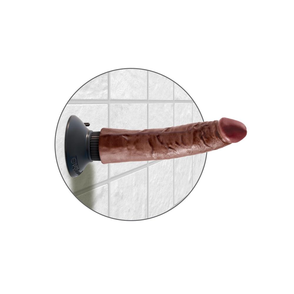 Vibromasseur Ventouse 17,8 cm King Cock