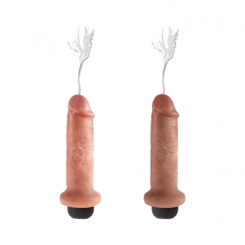 Dildo Ejaculateur 15,2 cm King Cock