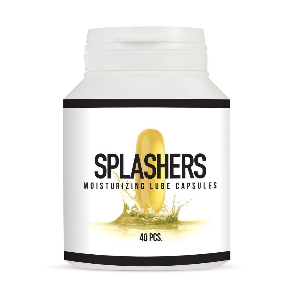 Capsules Lubrifiantes Splashers x40