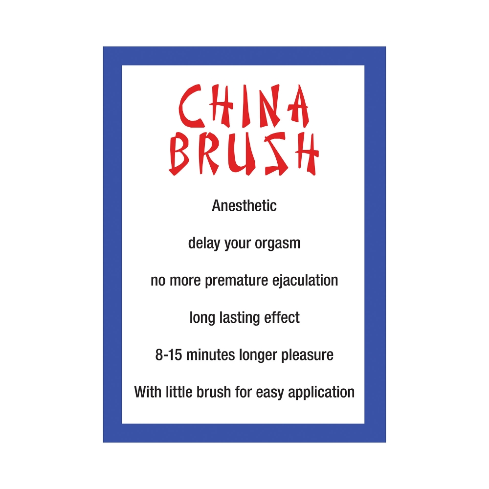 Brosse Chinoise Retardante China Brush 20 ml