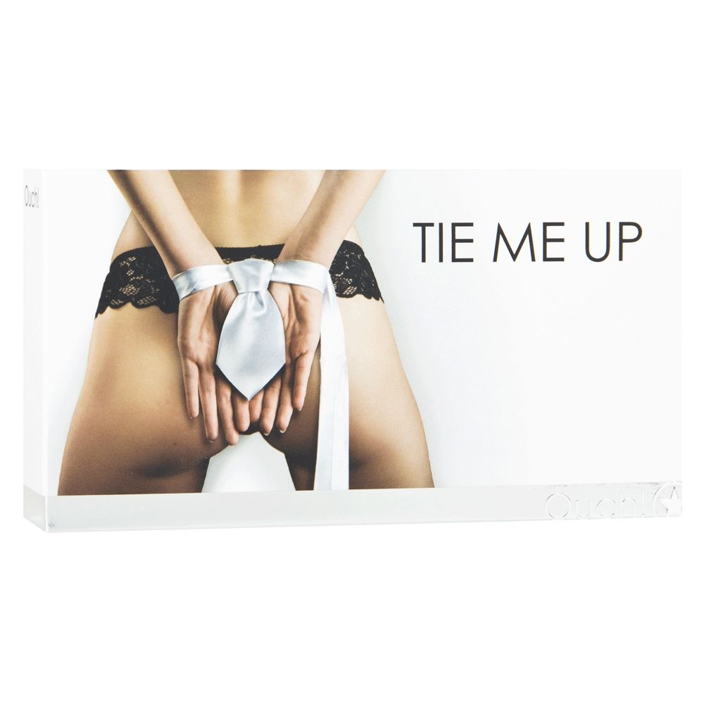 Ruban Tie Me Up Noir