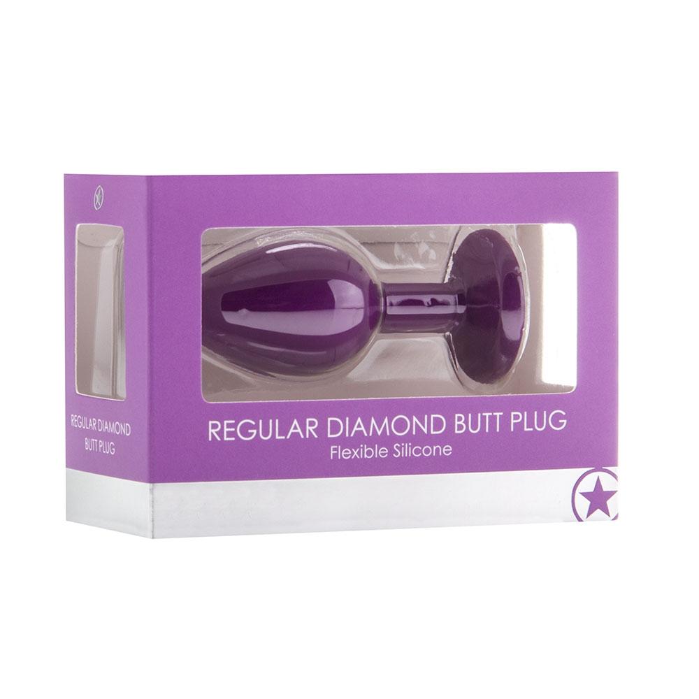 Plug Anal Regular Diamond Butt Plug