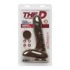 Dildo avec Testicules Super D 22,9 cm Dual Density The D