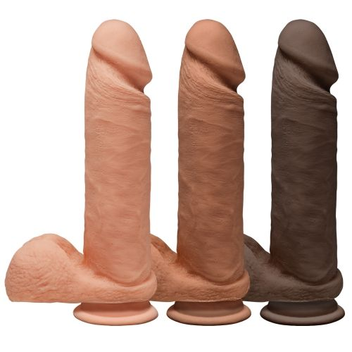 Dildo avec Testicules Perfect D 20,3 cm Dual Density The D