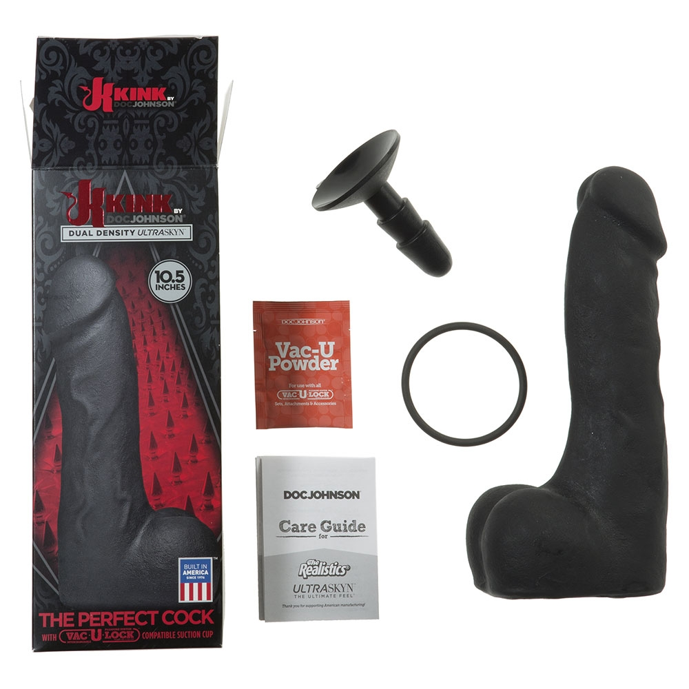 Dildo avec Testicules Vac-U-Lock The Perfect Cock 26,7 cm
