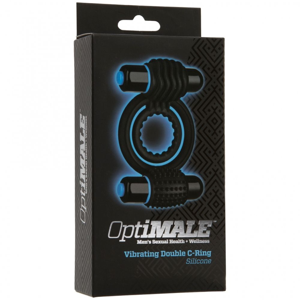 Cockring OptiMALE Vibrating Double C-Ring
