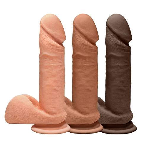 Dildo avec Testicules Perfect D 17,8 cm Dual Density The D