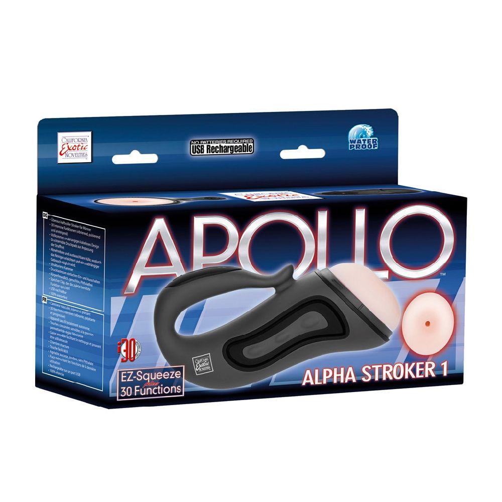 Masturbateur Vibrant Apollo Alpha Stroker 1