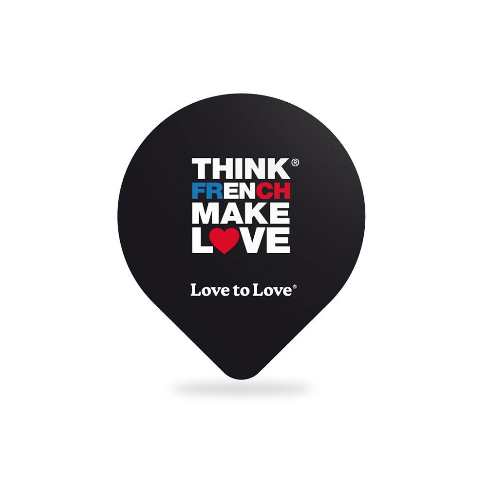 Préservatifs Think French Make Love Pack de 5