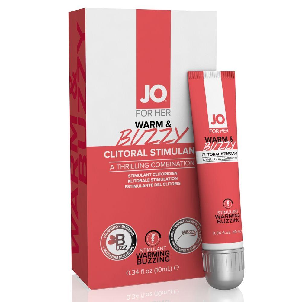 Gel Stimulant pour Clitoris Warm & Buzzy