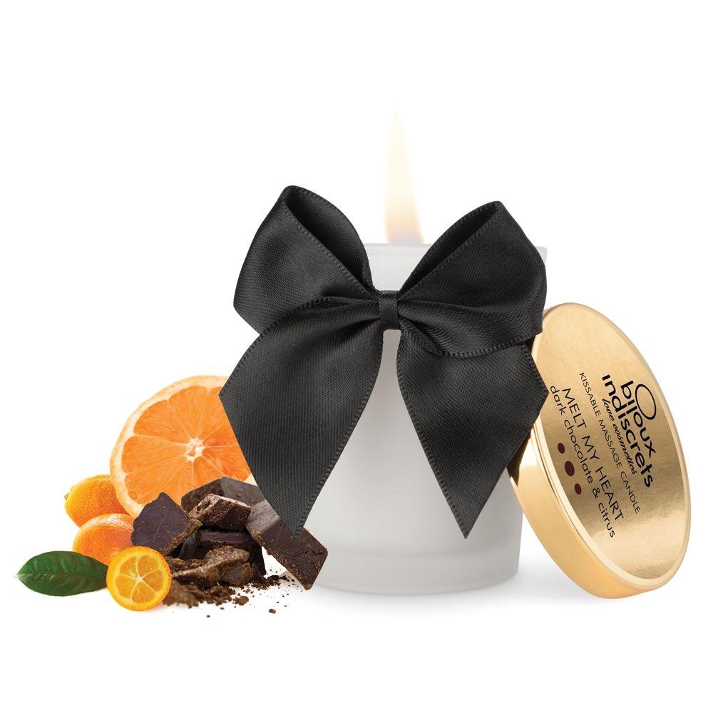 Bougie de Massage Embrassable Chocolat Noir