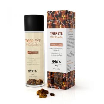 Huile de Massage Protectrice Macadamia BIO avec Oeil de Tigre