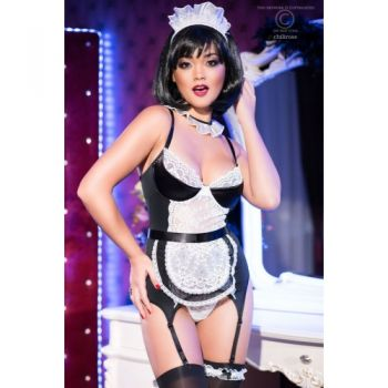 Corset French Maid CR4152