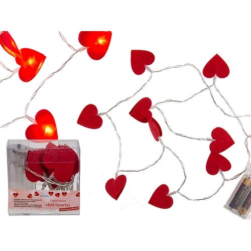 Guirlande Lumineuse Coeur LED