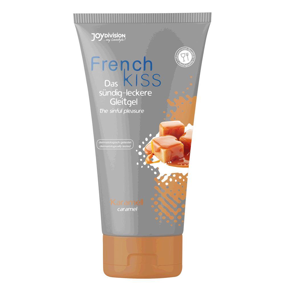 Gel Lubrifiant Oral FrenchKISS Caramel