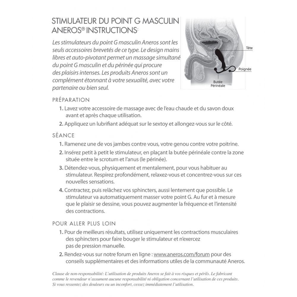 Stimulateur prostatique Eupho Trident