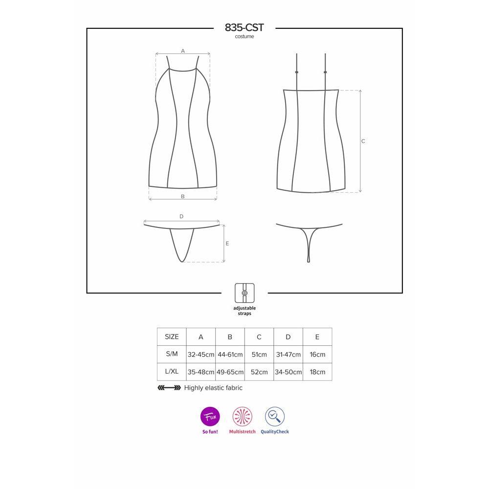Costume 835-CST-1 Diable