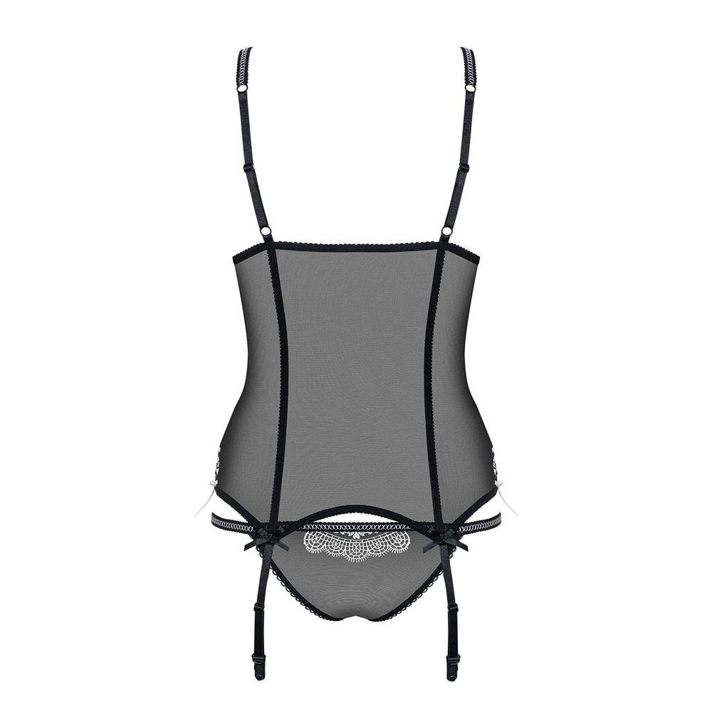 Guêpière 840-COR-1 Noire