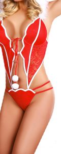Lingerie de Noel body christmas girl