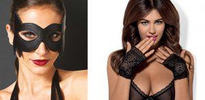 accessoires-sexy mitaine masque
