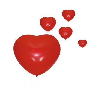 Ballon coeur cadeau coquin
