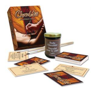 coffret coquin defis chocolates ozze