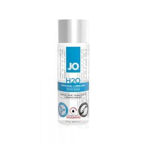 lubrifiant a eau h2o chauffant system jo 60 ml