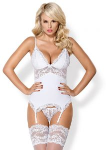 lingerie mariage obsessive guepiere