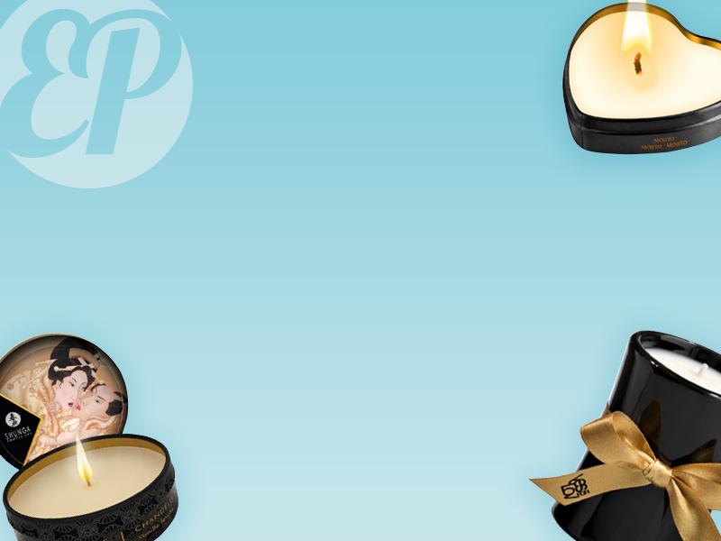bougies de massage banniere