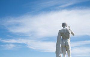 Fesses statue