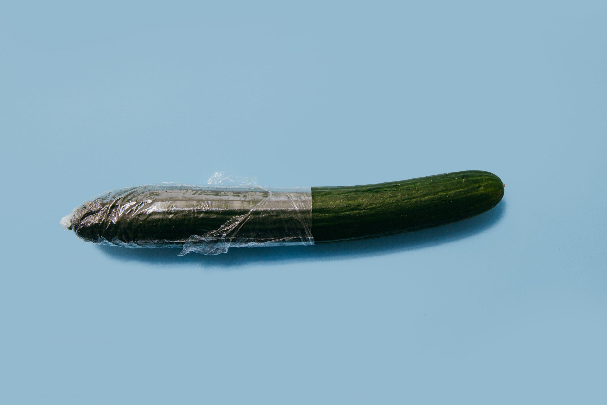 Concombre semi emballé