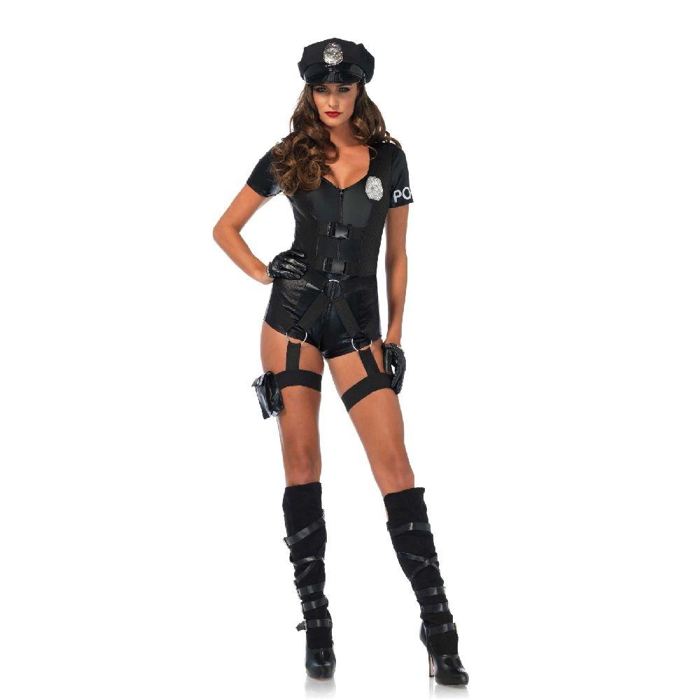 Costume policière Leg Avenue - espaceplaisir